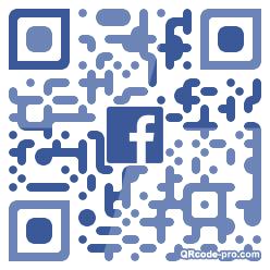 QR code with logo 2pwn0