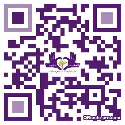 QR code with logo 2r680