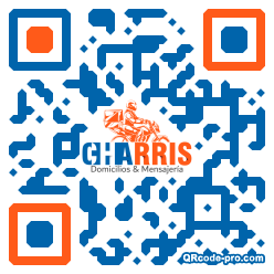 QR code with logo 2r6b0