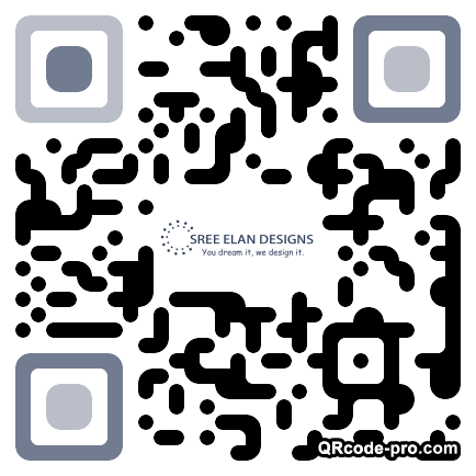 QR code with logo 2rBI0