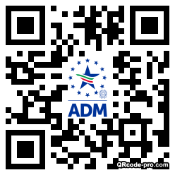 QR code with logo 2rBR0