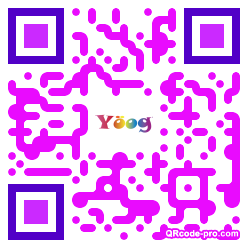QR code with logo 2rDe0