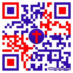 QR code with logo 2rTG0