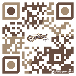 QR code with logo 2rTh0