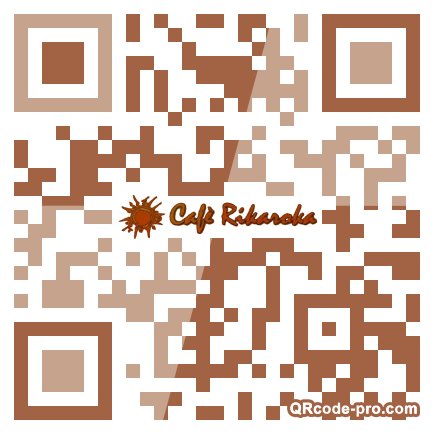 QR code with logo 2t100
