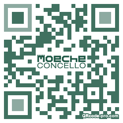 QR code with logo 2t810