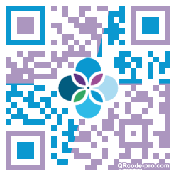 QR code with logo 2tPW0