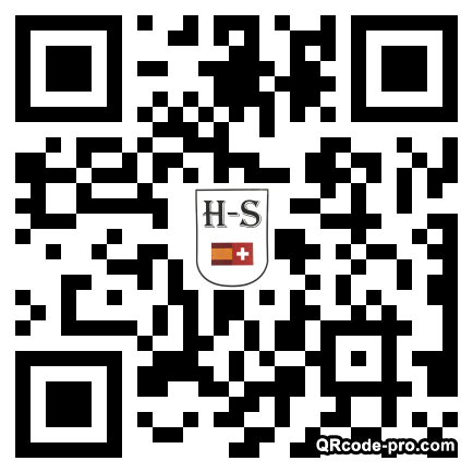 QR code with logo 2tog0