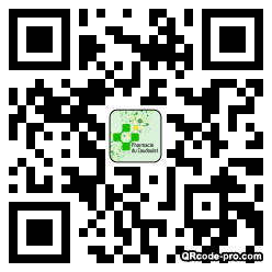 QR code with logo 2tx70