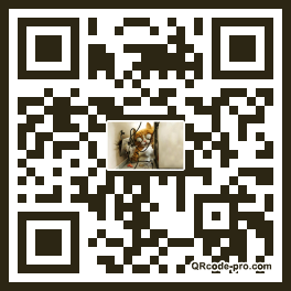 QR code with logo 2u000