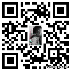 QR code with logo 2v0H0