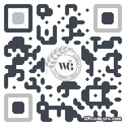 QR code with logo 2v390
