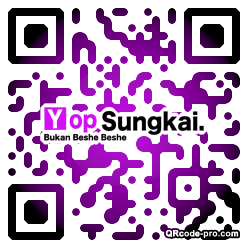 QR code with logo 2vCM0