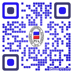 QR code with logo 2vW40