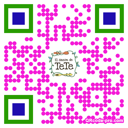 QR code with logo 2veP0