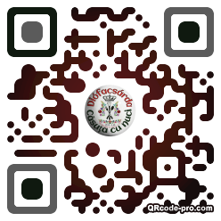 QR code with logo 2vel0