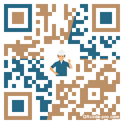 QR code with logo 2vfJ0