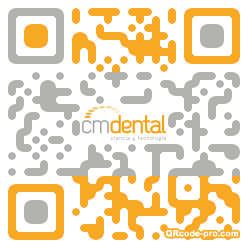 QR code with logo 2vht0