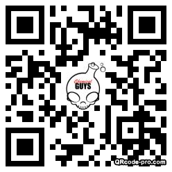 QR code with logo 2vhv0
