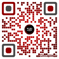 QR code with logo 2vn40