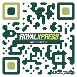 QR code with logo 2vo30