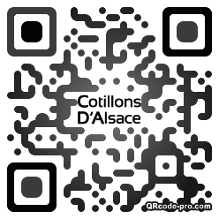QR code with logo 2vrx0