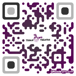 QR code with logo 2vxc0
