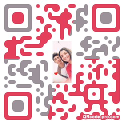 QR code with logo 2w780