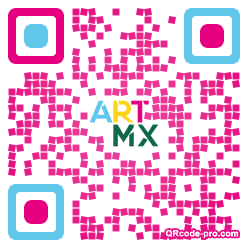 QR code with logo 2wOP0