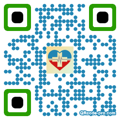 QR code with logo 2wP00