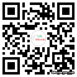 QR code with logo 2wX80
