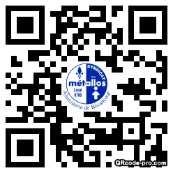 QR code with logo 2wm40