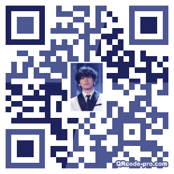 QR code with logo 2wum0