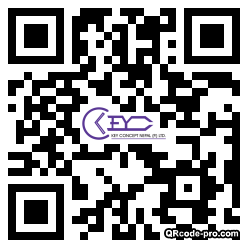 QR code with logo 2wzd0