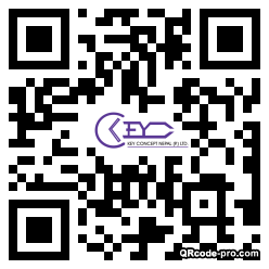 QR code with logo 2wze0