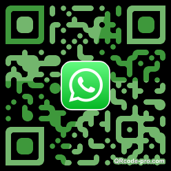 QR code with logo 2x300