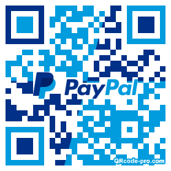QR code with logo 2xMV0