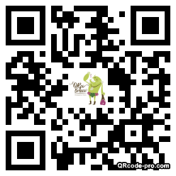 QR code with logo 2xcr0
