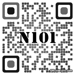 QR code with logo 2xtM0