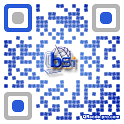 QR code with logo 2zC30