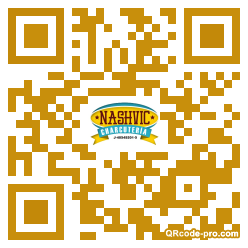 QR code with logo 2zFb0