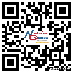 QR code with logo 301z0