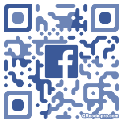 QR code with logo 30Lb0