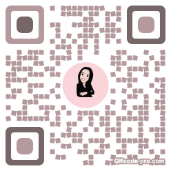 QR code with logo 30Mz0