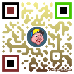 QR code with logo 30RX0