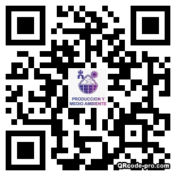 QR code with logo 30Up0