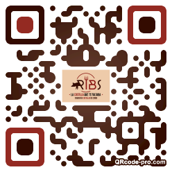 QR code with logo 30X00