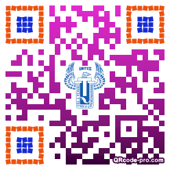 QR code with logo 317D0