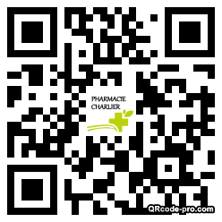 QR code with logo 319P0