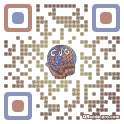 QR code with logo 31Hz0